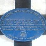 Shrewsbury, Castle Gates, The Gateway & Council  House Plaque